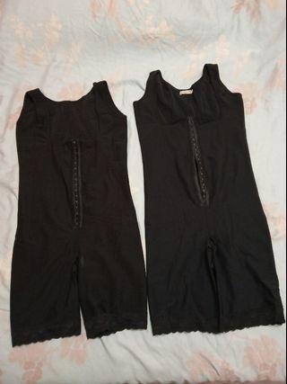 瑪麗蓮Marilyn神極塑身衣頂級定制黑色連身塑身衣 尺碼1