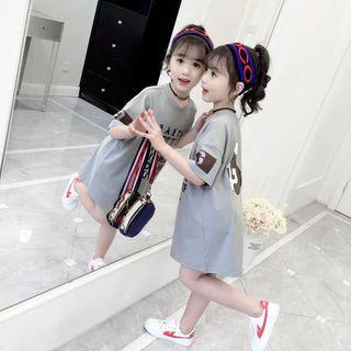 [READY STOCK]Girls Fashion T-Shirt Dress