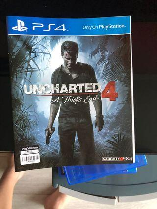 PS4 uncharted 4 ENG 英文牌