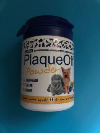 🎊🎉清貨價【現貨】包郵! 全新, 英國直送 ProDen PlaqueOff Power 保迪寵物牙石粉 (60g) dog cat canine feline 100% Natural Product / for good oral health / pet - 實物圖