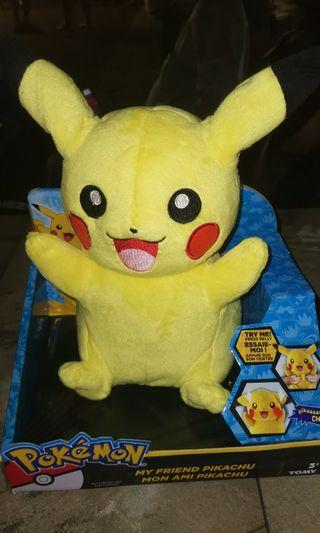 Pikachu Featured Plush Toy with lights and Sound