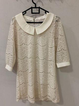 White Lace korea top
