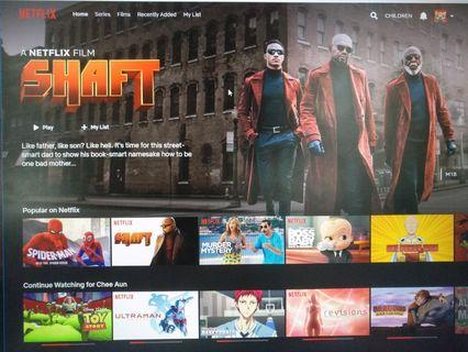 Netflix ultra hd monthly subscription share user