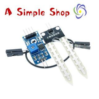 Soil Temperature and Humidity Sensor for Arduino