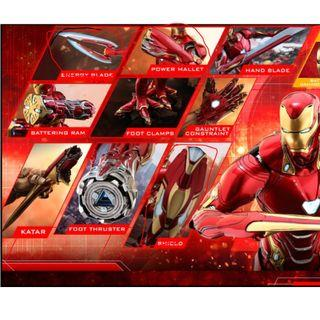 LOOKING FOR INDICATED HOT TOYS MARK 50 ACCESSORIES