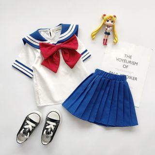 女童水手服套裝
