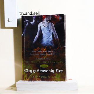 The Mortal Instrument City of Heavenly Fire by Cassandra Clare