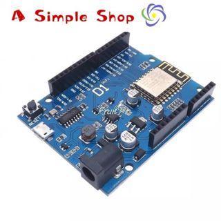 WeMos D1 CH340 CH340G WiFi Development Board ESP8266 ESP-12 ESP-12E Module For Arduino IDE UNO R3