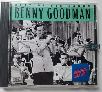 Benny Goodman, Best of Big Bands CD