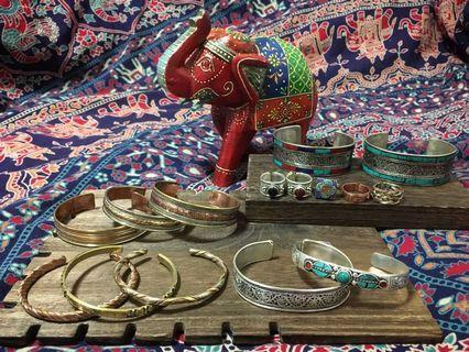 民族印度銅製飾物