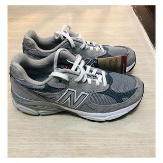 現貨 全新 New Balance W990 GL3 US6 UK4 EU36.5 Grey Gray Made in USA 女裝 NB 990