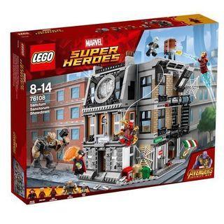 Lego 76108 Marvel Super Heroes Sanctum Sanctorum Showdown