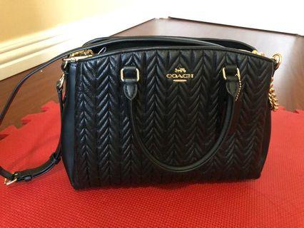 Coach Sage Carryall black authentic