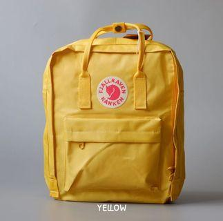 Fjallraven Kanken Yellow