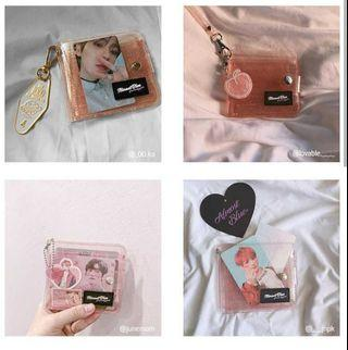 ALMOST BLUE TWINKLE JELLY WALLET OFFICIAL ACCESORIES