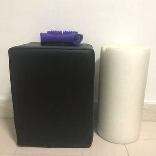 Yoga Block / Foam Roller for Back / Mini Hand Held Roller