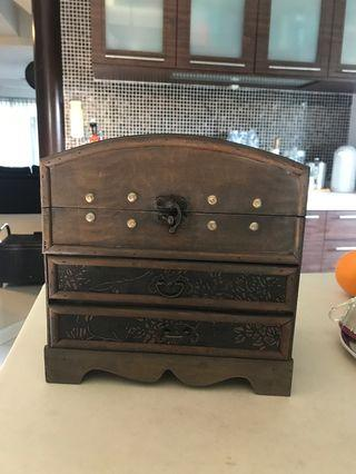 Brand New Vintage Wooden Drawers for Jewellery