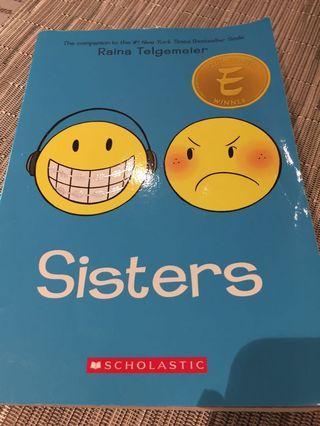 🚚 Sisters by Raina Telgemeier