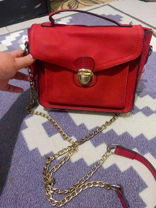 #joinjuli Red Bag