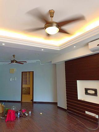 Tukang plaster ceiling area Gombak