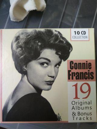 Connie francis 19 Original Albums & Bonus Tracks (10 CD COLLECTION)