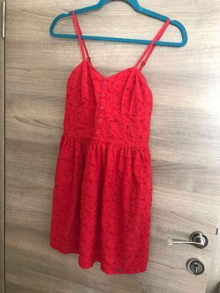 Superdry red dress