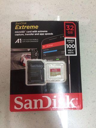 🚚 Sandisk 32G 記憶卡