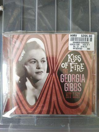 Kiss of Fire • The Georgia Gibbs Hit List