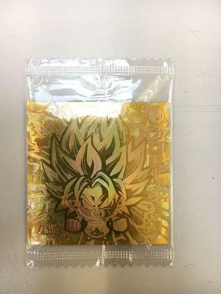 龍珠バンダイ 超戦士シールエハースZ W12餅食餅貼 W12-23 GGR(全