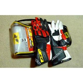 RS-Taichi GP-WRX Racing Gloves, NXT-043 Red (BNIB)