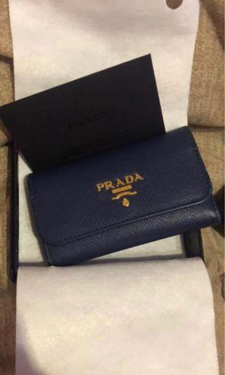 Authentic Prada Key Holder