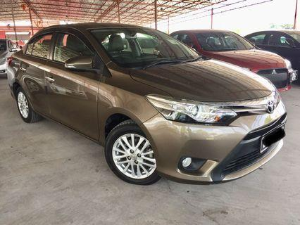 2015 Toyota Vios 1.5 G (A) Under Warranty