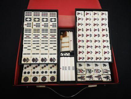 Vintage Mahjong Set🀄 inc pos