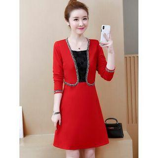 dress wanita import D5MP61T3