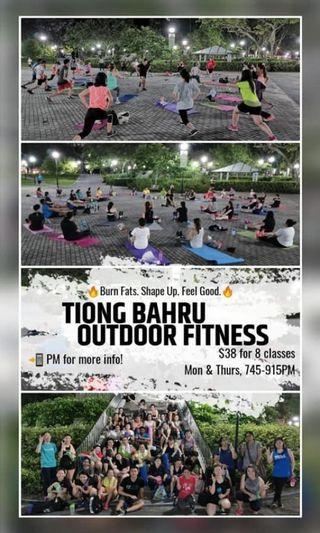 🚚 Outdoor Fitness Only start @ S$8