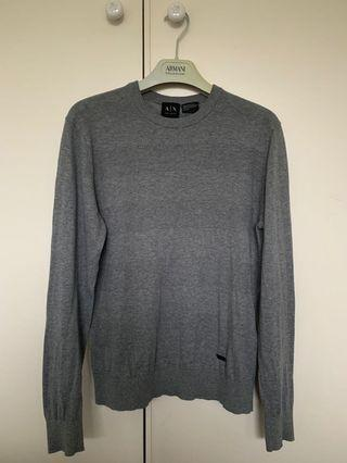 ARMANI EXCHANGE Sweater Jumper - Grey - Size XS