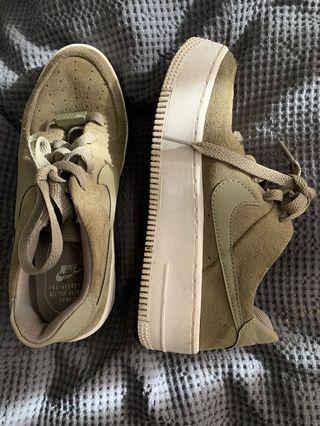 Khaki Platform Nike