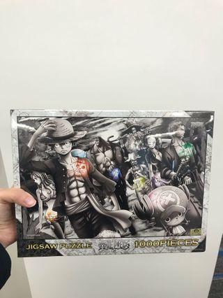 1000塊海賊王拼圖One Piece Puzzle