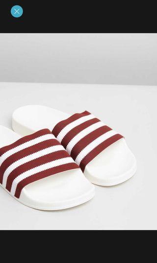 Adidas slides size 7W