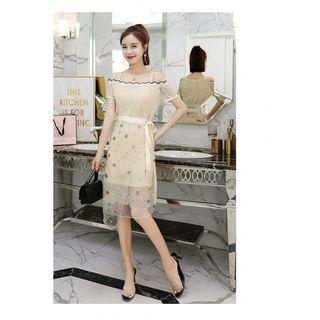 dress pesta korea D5MP59T3