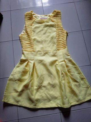 BNWOT Yellow Dress