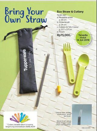 Eco straw & cutlery