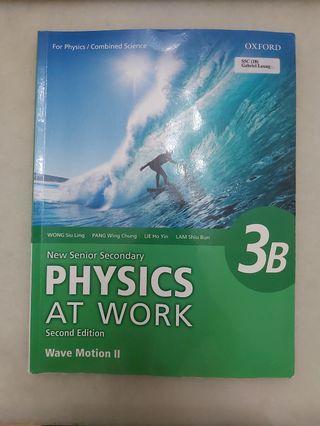 ❗限時減價❗Physics at Work // Book 3B // Wave Motion 2 //