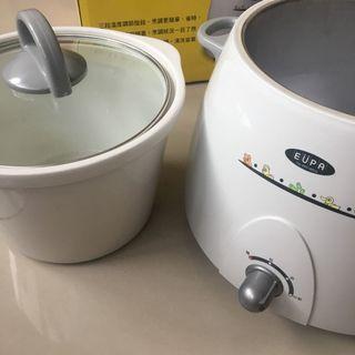 EUPA 3L 陶瓷燉鍋 獨立陶瓷鍋