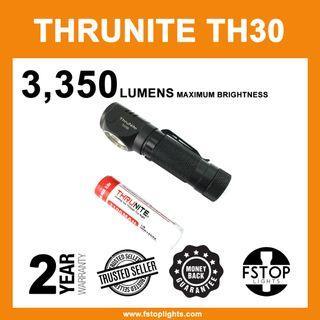 ★ ThruNite TH30 3350 Lumens USB-Rechargeable Headlamp (Full Set)
