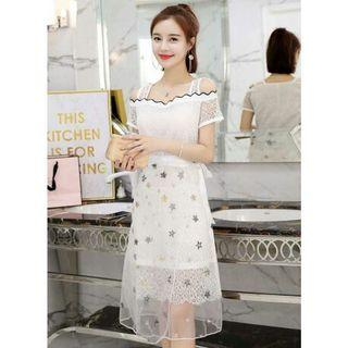 dress pesta korea D5MP5T91