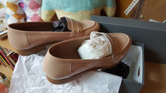 Minelli 平底鞋 樂福鞋 休閒鞋 皮鞋