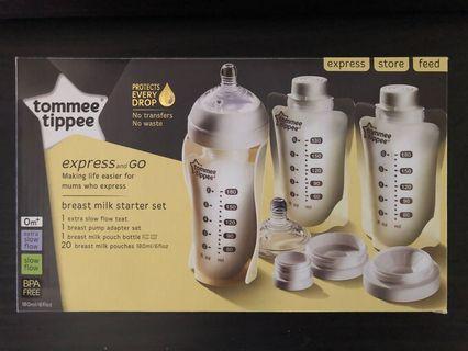 Tommee Tippee Breast Milk Starter Set
