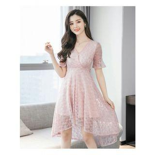 midi dress brukat korea D55MP7T6