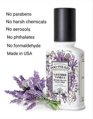 Poo pourri Toilet Spray (2oz),Lavender Vanilla Scent